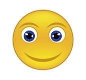 Radosny smiley Obrazy Stock