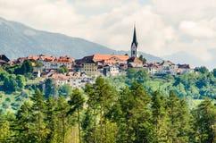 Radovljica, Eslovenia Imágenes de archivo libres de regalías