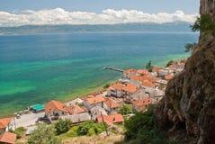 Radozda. The village of Radozda in Macedonia Stock Photo