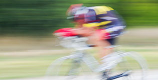 Radrennen Stockbild