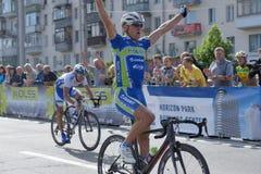 Radrennen-Horizont-Park 2013 in Kiew Lizenzfreies Stockbild