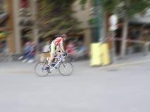 Radrennen in Jasper Canada Lizenzfreie Stockbilder
