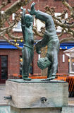 Radschlager Fountain in Dusseldorf, Germany Stock Photography