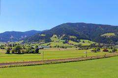 Radstadt. In the Austrian Alps Stock Photos