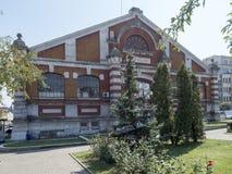 Radu Negru-Einkaufshalle, Drobeta-Turnu Severin, Rumänien Stockfotos