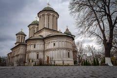 Radu Voda Monastery in Bucharest, Romania Stock Photo