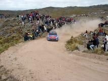 Raduno Córdoba Argentina di WRC Fotografia Stock Libera da Diritti