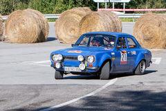 61 raduno Costa Brava. Campione di FIA European Historic Sporting Rally Immagine Stock