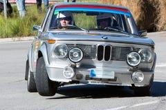 61 raduno Costa Brava. Campione di FIA European Historic Sporting Rally Immagine Stock Libera da Diritti