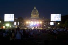 Raduno cristiano di TheCall in Washington DC Fotografie Stock Libere da Diritti