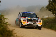 Raduno D'Italia Sardegna - ARAUJO di WRC 2011 Immagine Stock Libera da Diritti