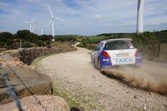 Raduno D'Italia Sardegna - COSTENARO G. di WRC 2012. Immagine Stock