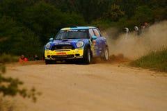 Raduno D'Italia Sardegna - FLODIN di WRC 2011 Fotografie Stock