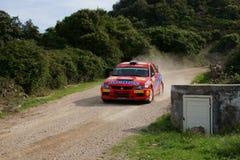 Raduno D'Italia Sardegna - GORBAN di WRC 2012 Fotografie Stock Libere da Diritti