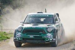 Raduno D'Italia Sardegna - NOBRE di WRC 2012 Immagine Stock