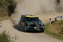 Raduno D'Italia Sardegna - OLIVEIRA di WRC 2011 Fotografia Stock Libera da Diritti