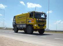 Raduno Dakar Argentina 2009 Immagini Stock Libere da Diritti