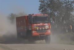 Raduno Dakar Argentina Cile 2009 Fotografia Stock Libera da Diritti