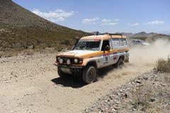 Raduno DAKAR Argentina - Cile 2010 Fotografia Stock Libera da Diritti