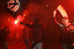Raduno del Anti-Kremlin a Mosca Fotografia Stock Libera da Diritti