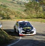 Raduno della Peugeot 207 Immagine Stock