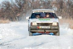 Raduno delle automobili Fotografia Stock