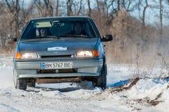 Raduno delle automobili Fotografia Stock Libera da Diritti