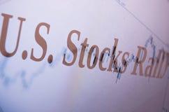 Raduno delle azione Fotografie Stock