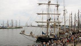 Raduno delle navi Fotografia Stock Libera da Diritti