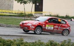 Raduno di Alfa Romeo 147 Fotografia Stock Libera da Diritti