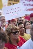 Raduno di APLA Fotografia Stock Libera da Diritti