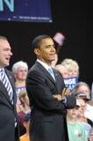 Raduno di Barack Obama fotografie stock