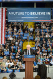 Raduno di Bernie Sanders in Saint Charles, Missouri fotografie stock libere da diritti