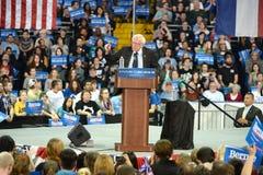 Raduno di Bernie Sanders in Saint Charles, Missouri fotografia stock libera da diritti