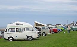 Raduno di raduno del club di Volkswagen fotografie stock