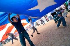 Raduno di immigrazione a Washington Immagine Stock Libera da Diritti