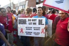 Raduno di Los Angeles di progetto del AIDS Immagini Stock