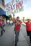 Raduno di Los Angeles di progetto del AIDS Immagini Stock Libere da Diritti