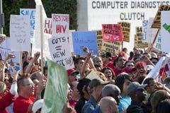 Raduno di Los Angeles di progetto del AIDS Fotografia Stock