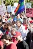 Raduno di Los Angeles di progetto del AIDS Fotografie Stock