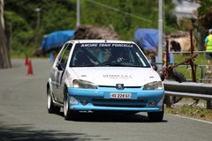 Raduno di Peugeot 106 Fotografie Stock Libere da Diritti