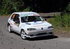 Raduno di Peugeot 106 Fotografia Stock Libera da Diritti