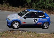 Raduno di Peugeot 106 Fotografie Stock