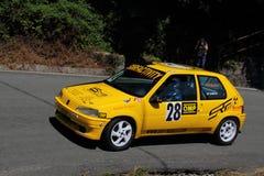 Raduno di Peugeot 106 Immagini Stock Libere da Diritti