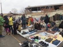 Raduno di scambio a Kiev fotografia stock libera da diritti