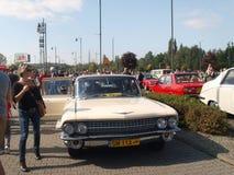 Raduno di vecchie automobili Immagine Stock Libera da Diritti