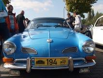 Raduno di vecchie automobili Immagine Stock