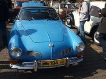 Raduno di vecchie automobili Fotografie Stock Libere da Diritti