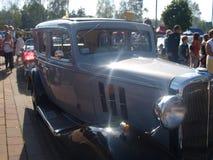 Raduno di vecchie automobili Immagini Stock Libere da Diritti