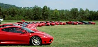 Raduno Ferrari Royalty Free Stock Image